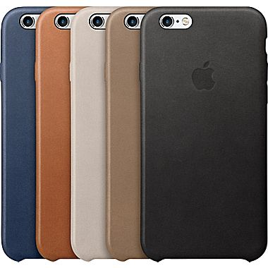 new concept 295a5 87bb8 Apple Leather Case